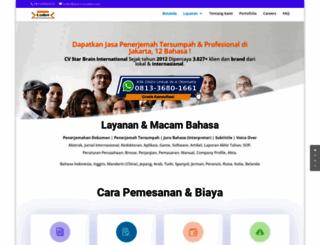 jasa-translate.com screenshot