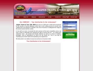jaspertravel.com.my screenshot