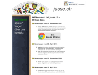 jasse.ch screenshot