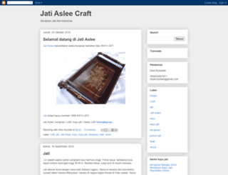 jati-aslee.blogspot.com screenshot