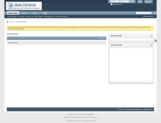 java-forums.org screenshot