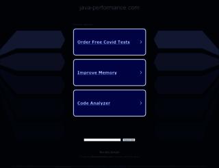 java-performance.com screenshot