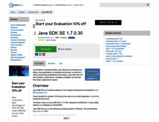 java-sdk-se.updatestar.com screenshot