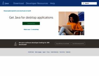 java.com screenshot