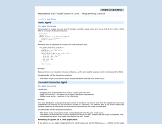 java.rubikscube.info screenshot