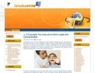 javaidlawfirm.com screenshot