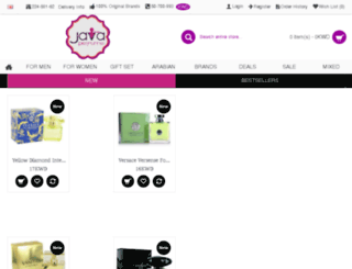 javaperfume.com screenshot
