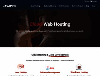 javapipe.com screenshot