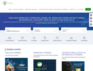 javaspringhibernate.com screenshot