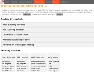 javasprint.com screenshot