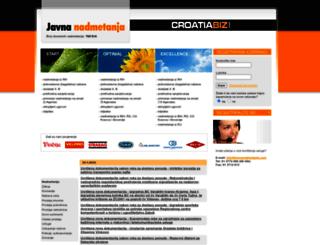 javnanadmetanja.com screenshot