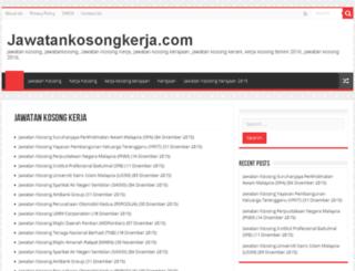 jawatankosongkerja.com screenshot