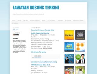 jawatankosongterkini.com screenshot