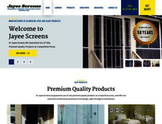 jayeescreens.com.au screenshot