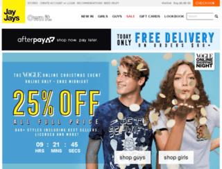 jayjays.co.za screenshot