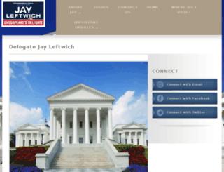 jayleftwich.nationbuilder.com screenshot