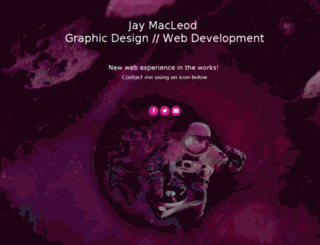 jaymacleod.ca screenshot