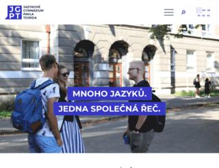 jazgym.cz screenshot