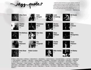 jazz-quotes.com screenshot