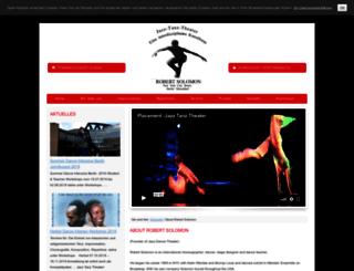 jazz-tanz-theater.de screenshot