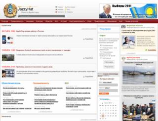 jazzyhat.com screenshot