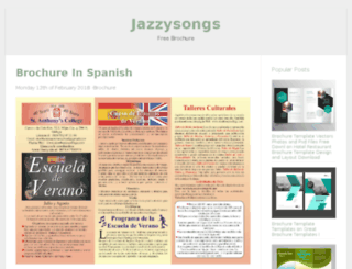 jazzysongs.info screenshot