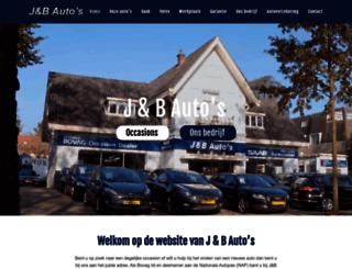 jbauto.nl screenshot