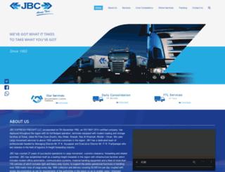 jbcexpress.com screenshot