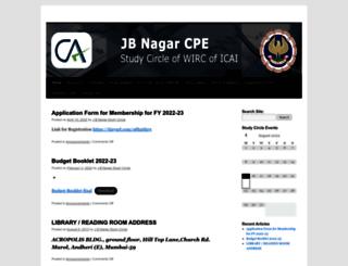 jbnagarca.org screenshot