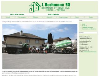 jbuchmann.ch screenshot