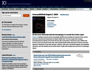 jci.org screenshot