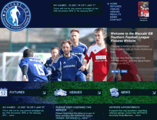 jcmsflfixtures.org screenshot