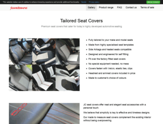 jcseatcovers.co.uk screenshot