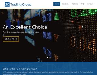 jctradinggroup.com screenshot