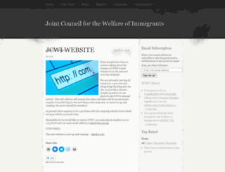 jcwi.wordpress.com screenshot