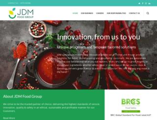 jdmfoodgroup.co.uk screenshot
