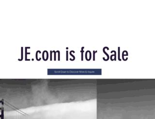 je.com screenshot