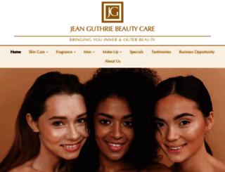 jeanguthrie.com screenshot