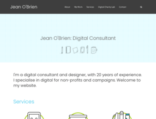 jeanobrien.com screenshot
