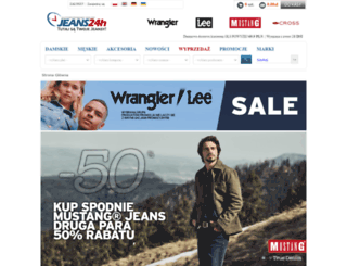 jeans24h.pl screenshot