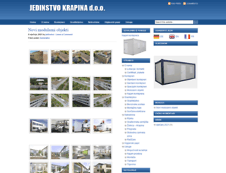 jedinstvo.com screenshot