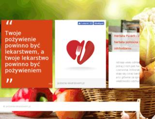 jedzenie-lekarstwem.pl screenshot