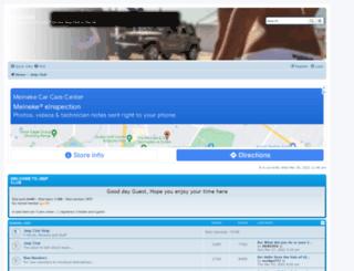jeep-club.co.uk screenshot