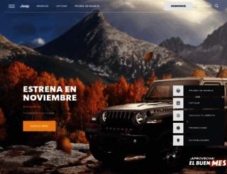 jeep.com.mx screenshot