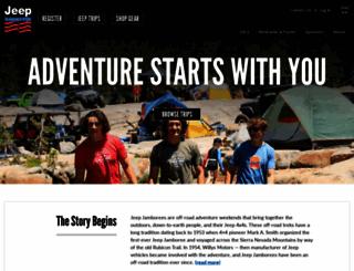 jeepjamboreeusa.com screenshot