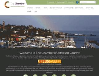 jeffcountychamber.org screenshot