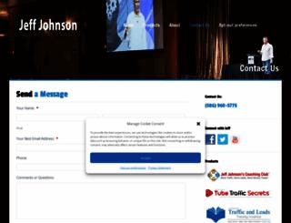 jeffjohnsonshelpdesk.com screenshot