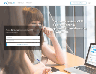 jellycrm.com screenshot
