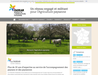 jeminstallepaysan.org screenshot