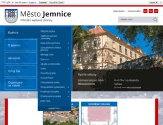jemnice.cz screenshot